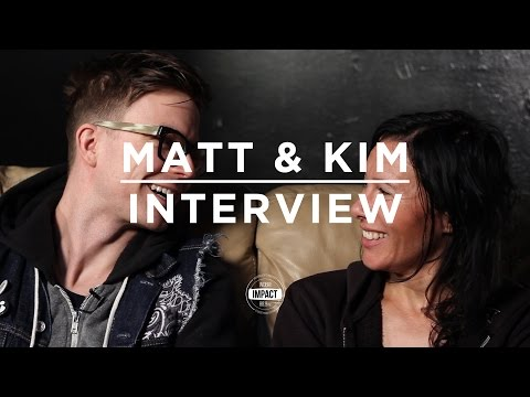 Matt and Kim - Interview (Live @ Royal Oak)