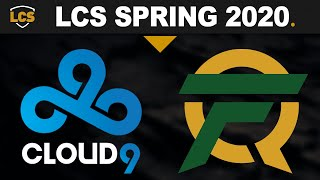 C9 vs FLY, Game 1 - LCS 2020 Spring Playoffs Grand Finals - Cloud9 vs FlyQuest G1