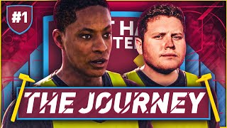 FIFA 17 THE JOURNEY #1 | HUNTER IS A HAMMER!!!