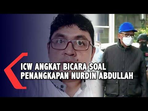 Terkait Penangkapan Nurdin Abdullah, ICW: Patut Disesalkan dan Ironis Ya