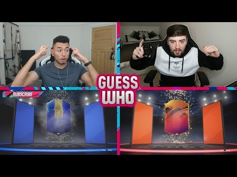 WE PACKED MONSTER CARDS 🔥 INSANE GUESS WHO FIFA vs HomelesPenguin (FIFA 19)