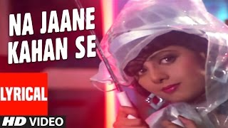 Na Jane Kahan Se Lyrical Video | Chaal Baaz | Sunny Deol