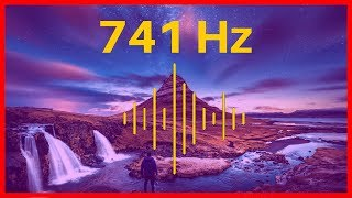 741 hz Music: AWAKENING YOUR INTUITION 🎧 Deep Relaxation Meditation ॐ The Law of Vibration