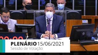 PLENÁRIO - Sessão para a votação de propostas legislativas - 15/06/2021 15:00