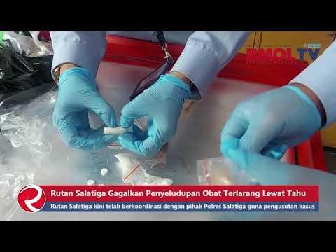 Rutan Salatiga Gagalkan Penyeludupan Obat Terlarang Lewat Tahu