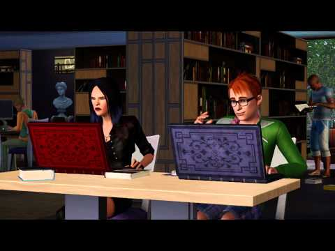 The Sims 3 Town Life Stuff Origin Key GLOBAL - trailer video