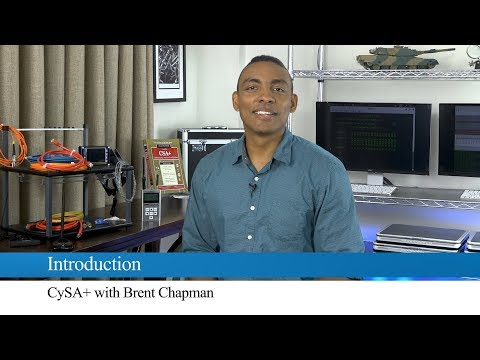 The CompTIA Cybersecurity Analyst (CySA+) Exam with Brent ...