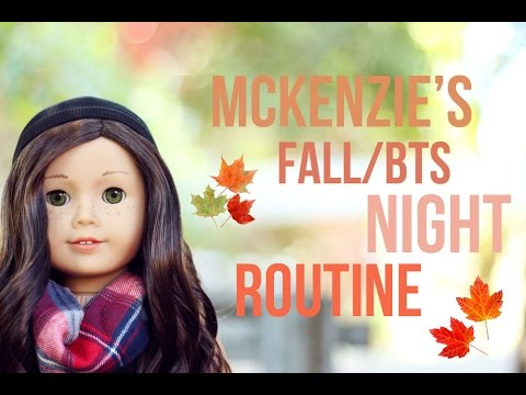 McKenzie's Fall Night Routine~ AGSM