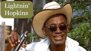 How To Play Blues On Guitar Easy - Lightnin' Hopkins Baby Please Don't Go