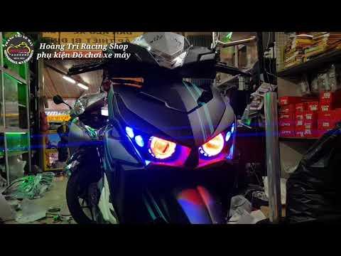 Độ đèn mắt Cú Click Thái 2015 phá cách và độc đáo