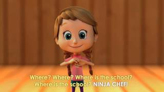 Treehouse English Coursebook: TPR Song - Where is the School?