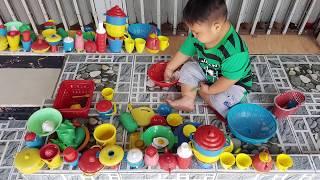 Trò Chơi Bán Hàng Nấu Ăn Làm Bếp ❤ ChiChi Kids TV ❤ Đồ Chơi Trẻ Em Baby Toys