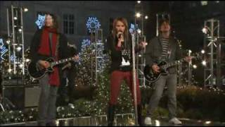 Miley Cyrus Performing Full Circle - Christmas at Rockefeller Center
