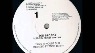 Jon Secada - Do You Really Want Me - Tee's In-house Dub (Todd Terry, 1993)