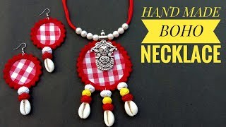 Handmade Jewellery//Necklace Making//At Home// Useful & Easy