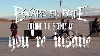 Escape The Fate - You're Insane Behind The Scenes