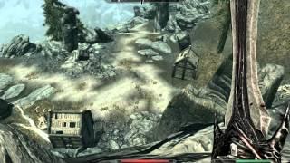 TES V: Skyrim - Древний дракон с двух ударов