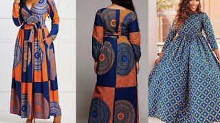 African Fashion/Womens Maxi Dresses / African Robe /Ankara Styles/ African Print / 2020 Ankara