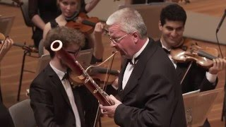 W.A Mozart: Concerto for Bassoon in B flat major, KV. 191 / Eckart Hübner