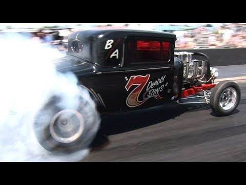 GASSERS and HOT RODS - Tulsa Raceway Park