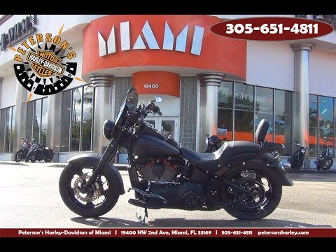 Used 2013 Harley Davidson FLSTFB Fat Boy Lo For Sale Miami Florida