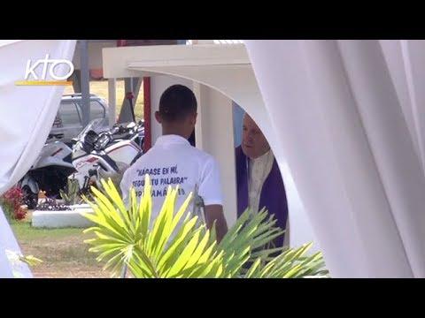Le pape François à la rencontre de jeunes détenus