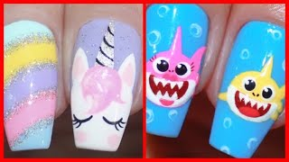 8 IDEIAS DE UNHAS DECORADAS 2020 (NAIL ART TUTORIALS COMPILATION)