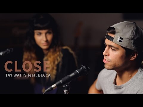 Nick Jonas - Close Ft. Tove Lo (Acoustic Cover By Tay Watts Feat. Becca Esopenko) Mp3