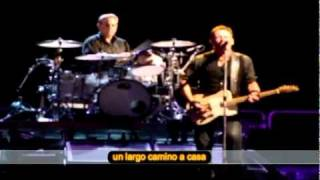 Long Walk Home (live) - Bruce Springsteen con subtítulos en español