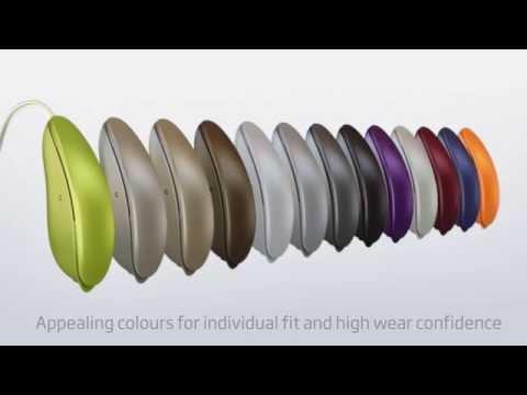 Oticon designRITE hearing aids