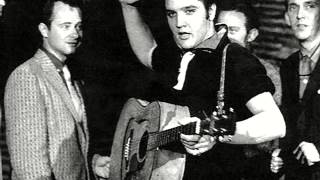 YouTube video E-card Elvis Presley  I love you because Words Music  Leon Payne Recorded 5 July 1954 at