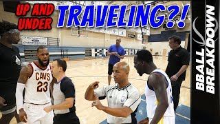 Why Basketball Fans Always Screw Up The Traveling Call