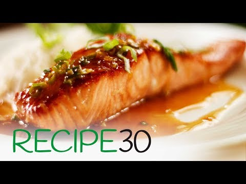 Tìm kiếm           2:41 / 3:17 Quick and Easy Honey and Soy Glazed Salmon, Pan Seared
