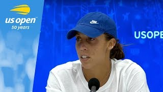 2018 US Open Press Conference: Madison Keys