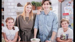 Julka i Bruno zaprosili youtuberów do kulinarnego challengu! #teamjulka [Mali Szefowie]