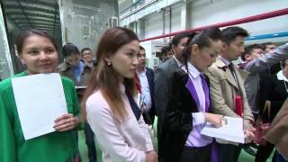 Посещение Нурсултаном Назарбаевым завода по выпуску пассажирских вагонов ТОО «Тұлпар-Тальго»