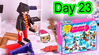 Playmobil Holiday Christmas Advent Calendar Day 23 Cookie Swirl C Toy Surprise Video