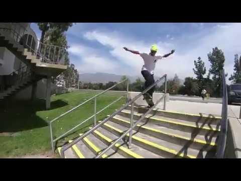 Dominick Walker, Louie Lopez, Ethan Loy & Sean Imes skateboarding in Cali!