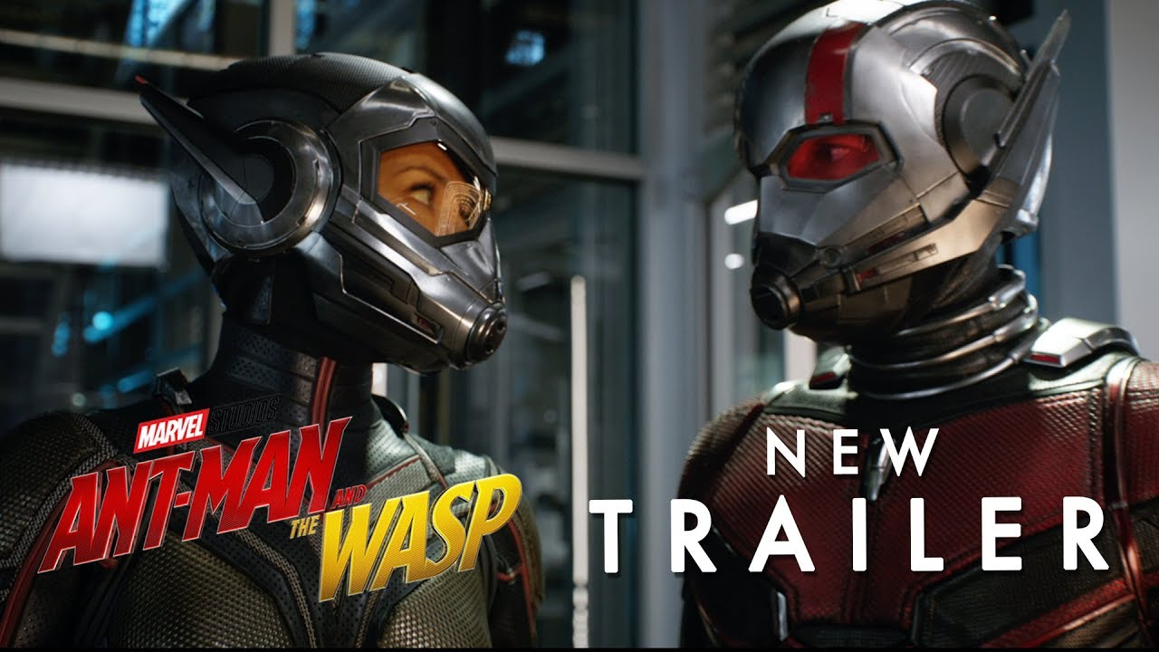 Trailer för Ant-Man and the Wasp