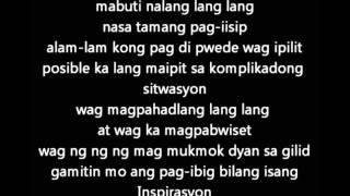 Shehyee - Inspirasyon (lyrics)