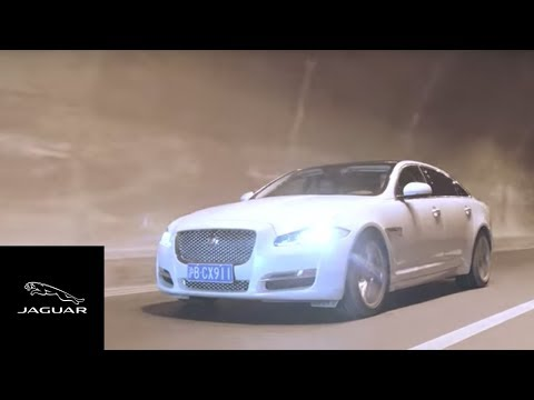 Jaguar XJ | Driving Innovation on China's Yaxi Skyroad Expressway