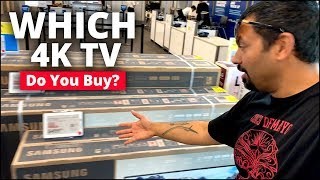 Tips For Buying 4K TV | 4K TV Shopping With Joe N Tell!!