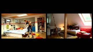 Video Nouzovej Východ - Tvý slova ft. Debora Truhlářová (Official Vide
