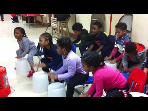 Rhythm using our buckets