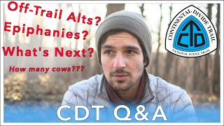 Q&A - Continental Divide Trail