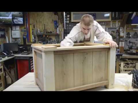Réaliser un bac à fleurs, plantes et bambou - En bois - Wood working