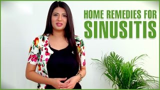 3 Simple & Powerful Home Remedies To TREAT SINUSITIS