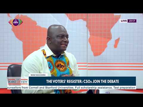 AFAG explains why it agrees with the EC on new voters' register | Point of View