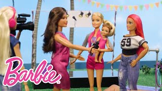 A Day in the Life of a News Team with Barbie | Barbie® Careers | Barbie