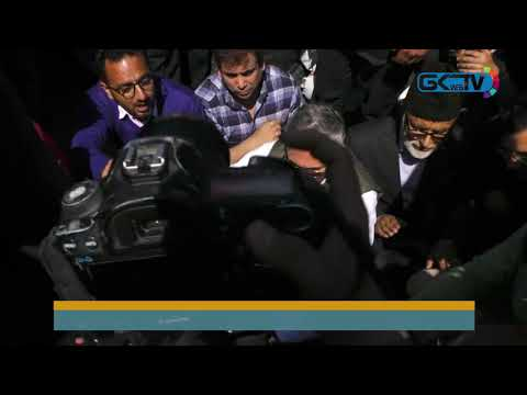 Omar Abdullah leads National Conference protest against Kashmir highway ban